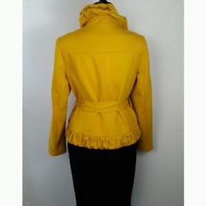 International Concepts Chic Ruffled Fitted Jacket